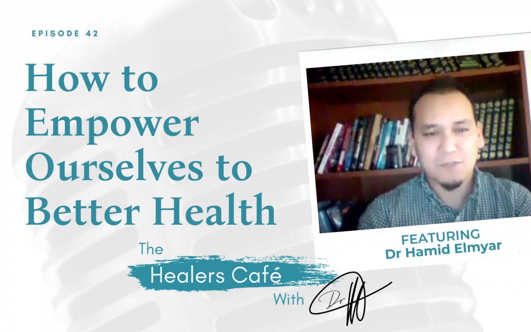 Dr Hamid Elmyar on The Healers Cafe with Dr M