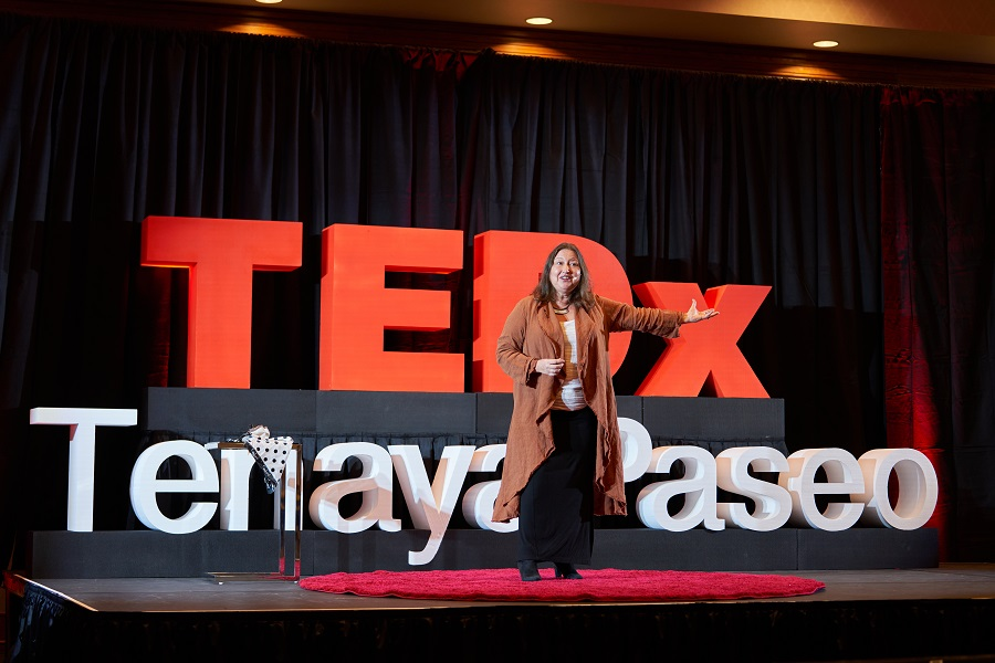 Dr M at TEDx TenayaPaseo
