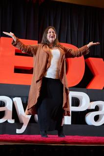 Dr M at TEDx TenayaPaseo